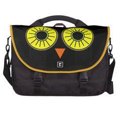 Owl Eyes Bag For Laptop