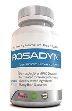 nice Rosadyn Rosacea Treatment - Natural Rosacea Skin Care to Relieve Facial Redness and Acne Rosacea. Better Than a Messy Rosacea Cream, Rosadyn Targets the Root Cause of Rosacea Skin Unlike Other Rosacea Skin Care Products. 60 Capsules