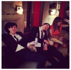 Dan and Phil are you drunk? XD