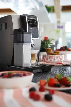 Buy De'Longhi Dinamica Plus Bean to Cup Coffee Machine, Silver from our View All Coffee Machines range at John Lewis & Partners. Coffee Uses, Coffee Type, Coffee Machine, Espresso Machine, Milk Supply, Perfect Cup, Roast, Beans, Favorite Recipes