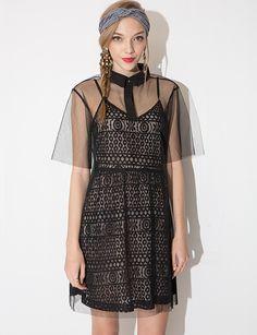 Organza Two Piece Dress $64.00
