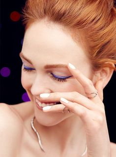 Classic black cat-eye + color shadow = instant pop. #ChooseLove (Paid for by @Revlon) http://r29.co/1TXVFKJ