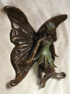 ✯ Hand Crafted Fairy Door Knocker .. By Omega Artworks ✯