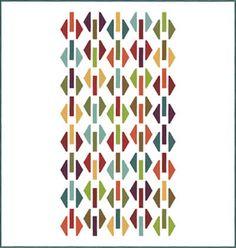 Hexagon Shuffle Free Pattern by Moda
