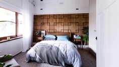 Reno Rumble Reveals: Josh & Jenna's Mid-century Bedroom. Photography by Elizabeth Allnut.