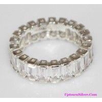 Silpada Artisan Jewelry Pristine 925 Sterling Silver Cubic Zirc..