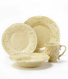 @ Dillards Cremieux Provence Dinnerware 16 place settings = $416 $26 each place setting 16 settings