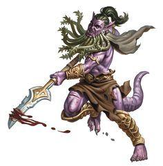 Hargosh, bearded devil. Malleus' right hand.
