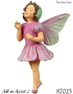 Amazon.com: ~ The Lilac Fairy ~ Cicely Mary Barker Fairy Ornament / Figurine Series XXI: Home & Kitchen