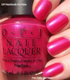 OPI Flashbulb Fuchsia - bold Brights shade perfect for summer.