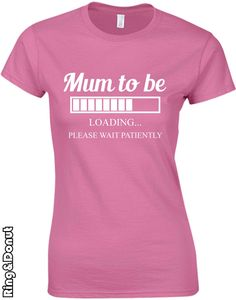 Funny New Mum Shirt, mom tshirt, New mommy, Christmas gift, mum to be,wife Gift,mother's Day, Pregnant Tee,cool tshirt by RingAndDonut on Etsy