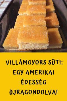 Menneyi finom! #sütemény #amerikai Cornbread, Dairy, Cheese, Ethnic Recipes, Food, Millet Bread, Essen, Meals, Yemek