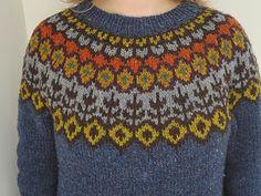 Ravelry: Lovewool-Knits' Grettir Brooklyn Tweed, Fair Isle Pattern, Christmas Sweaters, Knitwear, Men Sweater, Sewing, Knitting, Crochet, Knit Fashion