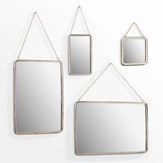 Miroir rect. petite taille L17,5 cm, Barbier