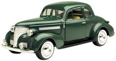 1939 Chevy Coupe Hard Top Diecast 1:24 Die Cast Cars