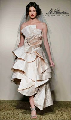 St. Pucchi Spring 2012 Bridal- not for a wedding tho. in a different color for a red carpet event would be stunning!