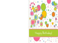 Check out this adorable printable birthday cards. Check out this adorable printable bir 10th Birthday, Happy Birthday, Board Decoration, Graphic Design Projects, Funny Birthday Cards, Gift Tags, Printables, Check, Prints