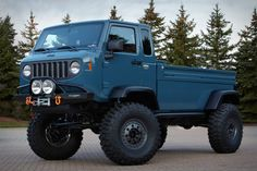 Jeep and Mopar's new Mighty FC concept vehicle is based on the classic Jeep Forward Contro...