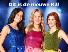 De nieuwe K3 - MARTHE, KLAASJE, HANNE