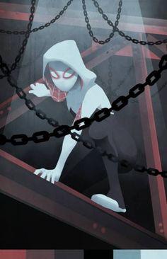 #Spider #Gwen #Fan #Art. (Spider-Woman) By: JuliaLost. ÅWESOMENESS!!!™