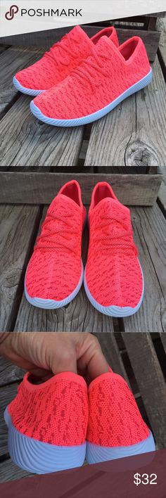 Neon Pink Flyknit Sneakers! NEW! So comfy and stylish! New in box direct from wholesaler! Sizes 6 - 10. Price is firm thank you. Friendsnfashion Boutique Shoes Sneakers