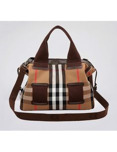 f66cf7f47c Women s Fashion Check Leather Tote One Shoulder Crossbody Bag