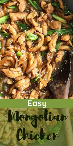 Crispy chicken and flavorful sauce, this Easy Mongolian Chicken is the best. Simple and tasty, you're going to love how it turns out. #Mongolianchicken #chicken #Crispychicken #Easyrecipe #easymongolianchicken #mongolianchicken #bestmongolianchicken #besteasymongolianchicken