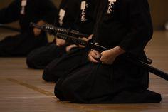 Tying the Sageo to the Hakama