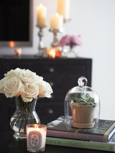 Easy Decorating Idea: Display Objects Under a Glass Cloche or Bell Jar