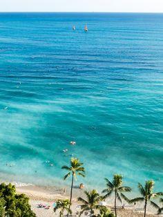 Waikiki Beach, Hawaii ~ Photography by junog007