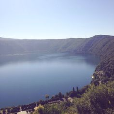 Magnificent lake, in Italy.