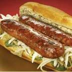 Andouille Po' Boy Sandwich - For Mardi Gras, a po' boy (or poor boy) is a traditional submarine sandwich made with meat or fish (usually fried) that hails from Louisiana. Choose a baguette/roll with a fairly soft crust, similar to New Orleans-style bread, Creole Recipes, Cajun Recipes, Sausage Recipes, Beef Recipes, Cooking Recipes, Grilled Recipes, Chicken Recipes, Po Boy Sandwich, Soup And Sandwich