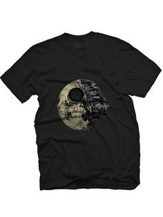 "Men's ""Dark Side of the Moon"" Tee by Fifty5 Clothing (Black) #InkedShop #tee #graphictee #menswear #StarWars #geekchic"