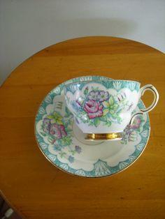 Rosina Tea Cup and Saucer. $25.00, via Etsy.
