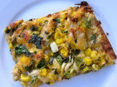 Tex-Mex Chicken Flatbread | Easy Healthy Weight Watchers Friendly Recipes