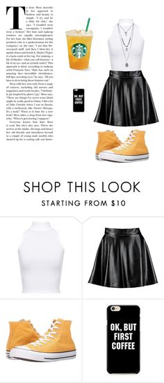 """City Day"" by lady-new-york on Polyvore featuring Mode, WearAll, Boohoo und Converse"