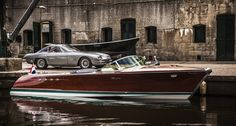 Rare Lamborghini Boat Restored by Riva-World. Two Lamborghini Wooden Boat Building, Wooden Boat Plans, Boat Building Plans, Riva Boot, Course Vintage, Classic Wooden Boats, Classic Boat, Timeless Classic, Best Boats