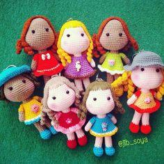 #amigurumi #cute #colour #crochet #crochetdoll #handmade