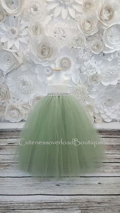 Best quality Baby Skirt Dresses for your own personal kid, We have now a nice choice of hand crafted baby toddler tutu long dresses. Green Flower Girl Dresses, Sage Green Dress, Green Tutu, Girls Tutu Dresses, Flower Girl Tutu, Blush Dresses, Tutus For Girls, Bridesmaid Dresses, Wedding Dresses