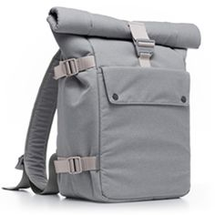 A large capacity, ultra-versatile, roll-top backpack to carry your laptop, tablet and the rest of your essentials in style.