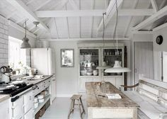 Kitchen Inspiration In A Cottage Hope House In Mousehole Cornwall Uk    MyHouseIdea