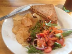 Toastie at the Frigate cafe, Ullapool