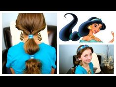 You won't need to travel to Agrabah to learn how to wear your hair like Princess Jasmine! Mindy shows us an easy and quick way to re-create this iconic ponytail hairstyle from Disney's classic movie, Aladdin.    Be sure to keep an eye out for the Hidden Mickey and comment when you find it, but don't give it away!    A Disney Exclusive from http://ww...
