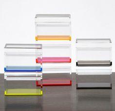 AVF Acrylic Treasure Box, Small by Alexandra Von Furstenberg ...
