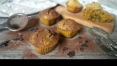 Vegan Muffin con curcuma, pepe e cioccolato | Glutenfree