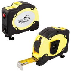 Y432: The Accurate 25-ft tape measure with built in laser Laser frequency: 650 nm 360 degrees vial with magnetic adjustable bolt Metal belt clip attached Cover made from ABS plastic/rubber