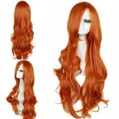 $22.15 (Buy here: https://alitems.com/g/1e8d114494ebda23ff8b16525dc3e8/?i=5&ulp=https%3A%2F%2Fwww.aliexpress.com%2Fitem%2FFree-Shipping-75cm-Curly-Wavy-Long-Orange-Red-Lolita-Cosplay-Wig-Women%2F2038161331.html ) 75cm Curly Wavy Long Orange Red Lolita Cosplay Wig For Women for just $22.15