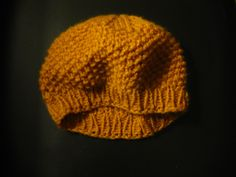 this lovely life: simple slouchy beret