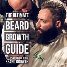 most comprehensive guide on increasing beard growth available anywhere. Learn how to stimulate beard growth with grooming diet and beard care products. Beards And Mustaches, How To Increase Beard, Beard Growing Tips, Best Beard Growth, Beard Growth Products, Beard Maintenance, Facial Hair Growth, Beard Tips, Beard Ideas