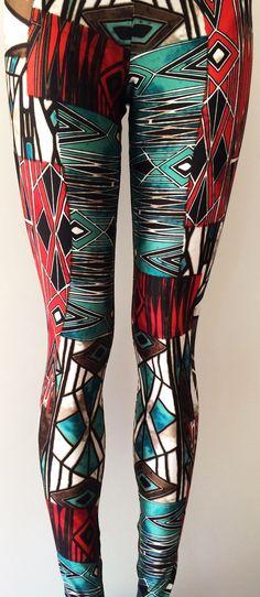 Roest rood zwart groen wit Print Activewear nieuwe ziel Trend